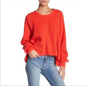 NWT Free People Festival Pier Pullover Sweater XS